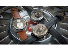 Klockorna från REC Watches byggs av delar från gamla Ford Mustanger, och bilens serienummer skrivs på urtavlan.