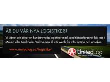 Annons för ny logistiker i PåHugget