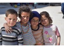 """""""Krigen har tatt alt fra våre barn"""", sa leder i SOS-barnebyer  Syria under åpningen av et nytt omsorgssenter i Tartous."""