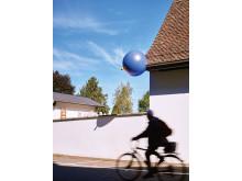 """Tobias Rehberger Weg """"24 Stops"""", Basel."""