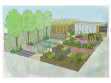 Health for Life show garden at BBC Gardeners' World Live in Birmingham