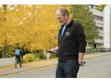 Olav Høyem, driftsansvarlig for NTNU