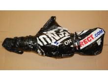 Bag containing the guns