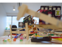 Zcooly Hack - Glasspinnskryp med BBC Micro:bit