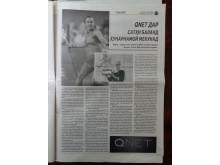 Мартина Хингис становится послом бренда QNET / Martina Hingis becomes brand ambassador for QNET