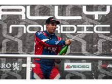 Peter Hedström tog hem segern i Supercar