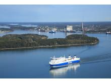 Suomen Ilmakuva  Port of Naantali