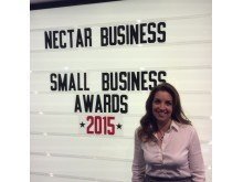 Lead judge of the Nectar Business Small Business Awards, Sarah Willingham