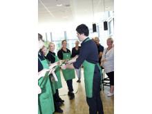 Ofisiell åpning av Starbucks på BI Nydalen