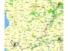 1. etape Post Danmark Rundt 2013