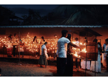 Kväll på Sri Lanka