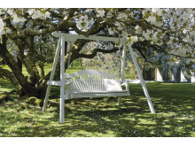 Sitt vackert ett helt liv i en Swing seat
