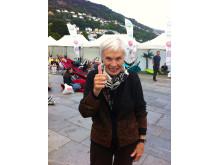 NM i Slappa 2013. Delfinalevinner Bergen Else Bruvik