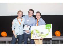 UserApp Vinnare Webb, Mjukvara och Media Venture Cup Syd hösten 2013
