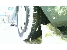 Sommerdæk i sne