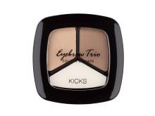 KICKS Make Up Eyebrow Trio