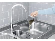 Kerää likaveden siististi säiliöön