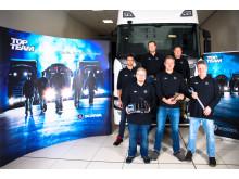 Das Top Team von Scania München-Oberschleißheim