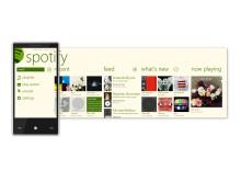 Spotify för WP7.5