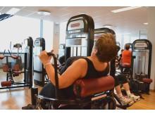 Fler och fler äldre tränar på gym