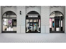 Skissbild_Samsung Kungsgatan 30_front