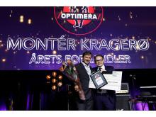Årets Forhandler 2016: Montér Kragerø
