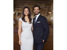 Prins Carl Philip och fröken Sofia Hellqvist