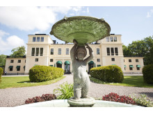 Staty i slottsparken