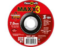 Flexovit Maxx3 Inox - Produkt 125mm