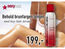 Sexy Hair Aerotan Forbrukerkampanje