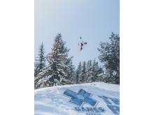 Norendal fikk det ikke til å stemme i X Games Aspen. Foto: Process Films / Snowboardforbundet