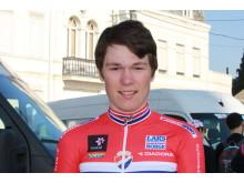 Søren Wærenskjold under Paris-Roubaix junior 2017
