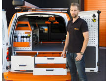 Johan Hansson, Sales Manager Work System