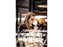 Viking Lines champagneexpert Essi Avellan hos Piper-Heidsieck