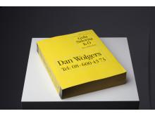 Dan Wolgers Gula sidorna (Gula Sidorna K-Ö), 1992 Objekt 27 x 21,5 cm