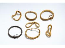 Syv armringe fra 900-tallet