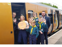 Astwood Bank Scouts Cross City Heroes win
