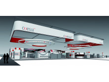 The Coesia booth at Interpack 2014 - the connecting point for innovation based industrial solutions