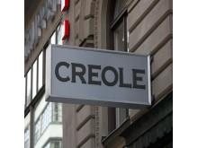 Ljusskylt Creole