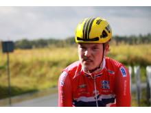 Bjørnar Vevatne Øverland under sykkel-EM 2017