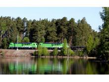 Green Cargo stålpendel