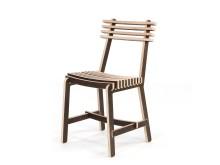 "Ida Tast & Janus Beier: ""X-finér stol"""