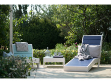 Loungemøbler under pergola
