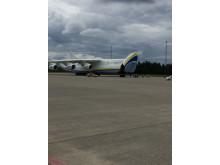 Fronten åpnes på Antonov AN-225