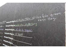 Bostadsdrömmar skrevs på plank