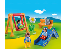 70130 Kinderspielplatz von PLAYMOBIL 1.2.3