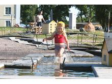 Pressbild - Göta kanal, Barnens minikanal i Norrkvarn