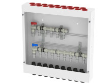Prefabricerade fördelarskåp för tappvatten