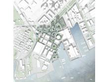 05_Centrala Lindholmen_Plan_1_2000_Henning Larsen Architects