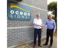 High res image - Ocean Signal - Alan Wrigley & Neil Jordan